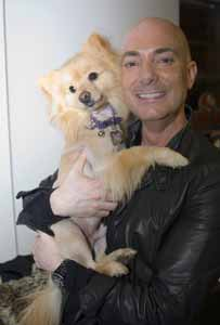 David Evangelista with Animalstars Maxx