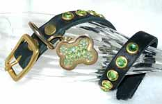 luxury rhinestone cat collars
