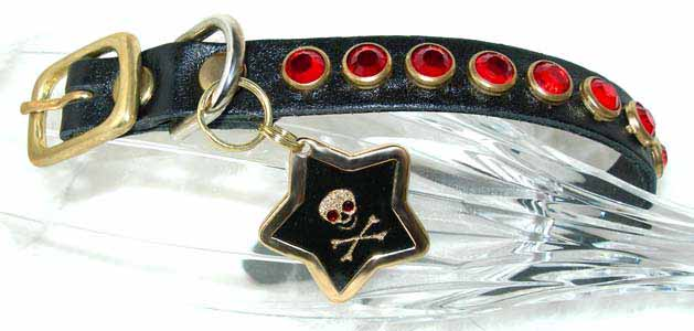 crystal pirate collars tags