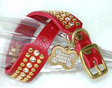 best rhinestone dog collars