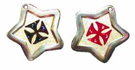 maltese cross pet id tags