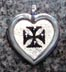 maltese crusaders cross id tags
