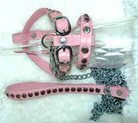 crystal dog harness harnesses