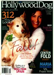 Lisa Edelstein Hollywood Dog