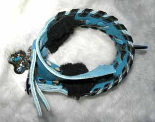 milan laced sighthound collars