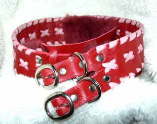 custom greyhound wide collars