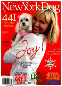 Kristin Chenoweth New York Dog