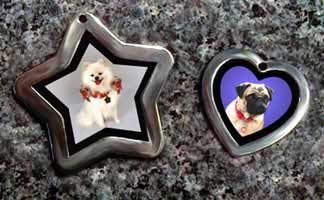 pet photo id tags jewelry