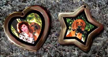 pet photo jewelry id tags