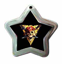 pirate no prisoners dog id tags