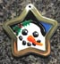 snowman pet id tags