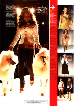 teen people fall fashion Christina Milian